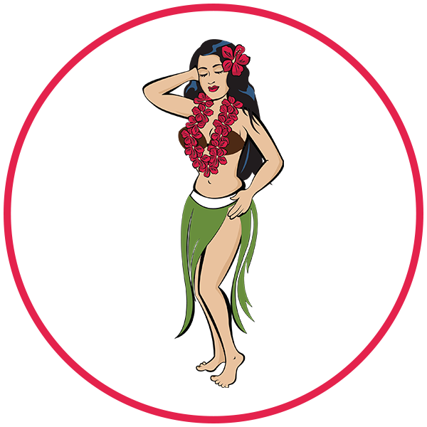 Hula Girl Web Design